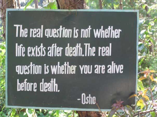 Osho Quote on Death