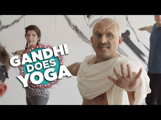 Gandhi and Yoga
