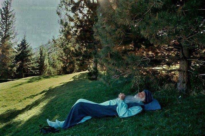 Osho Resting